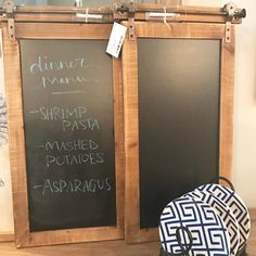 Have a small wall space to fill? Our wood wall blackboard is so cute and functional! Hangout Room, Salt Box, Garden Cafe, Diy Wall Decor, Home Decor, Chalkboard Paint, Blackboards, Office Organization, Wall Spaces