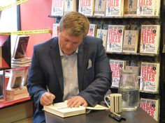 Ricky Hatton signs a copy of Vegas Tales in store on May 20th.