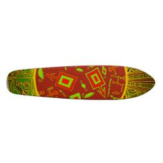 Shaman's tribal skateboard from my Zazzle shop:  Witches Hammer. www.Zazzle.com/WitchesHammer