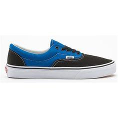 8f619e5b5d Vans Shoes Black Snorkel Blue 2 Tone Canvas Era Classic Sneakers
