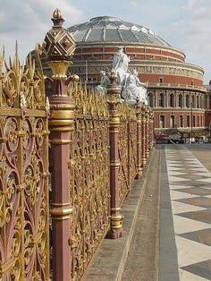 London England...Albert Hall.