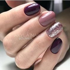 False nails have the advantage of offering a manicure worthy of the most advanced backstage and to hold longer than a simple nail polish. The problem is how to remove them without damaging your nails. Wedding Day Nails, Wedding Nails Design, Wedding Makeup, Pink Nails, My Nails, Purple Manicure, Matte Nails, Matte Pink, Acrylic Nails