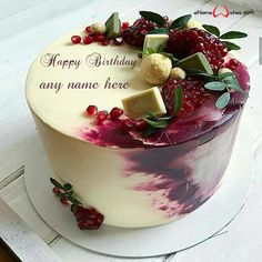 write name on pictures with eNameWishes by stylizing their names and captions by generating text on Happy Birthday Cake Pics Edit Name Online with ease. Happy Birthday Cakes, Butterfly Birthday Cakes, Cake Pictures, Cake Images, Best Christmas Quotes, Christmas Fun, Birthday Wishes With Name, Happy Birthday Wishes Quotes, Happy Birthday Greetings