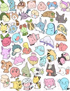 Pokemon Stickers - Thumbnail 1