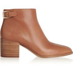 MICHAEL Michael Kors Saylor leather ankle boots