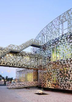 Satellite Control Center Hispasat #architecture ☮k☮