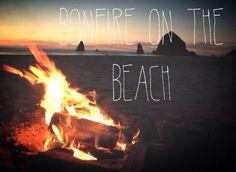 Bucket List: Bonfire on the beach