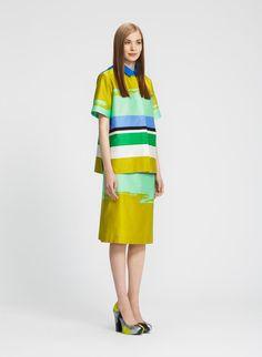 MARIMEKKO  Grafiikka shirt & Gesso skirt  Pattern design: Satu Maaranen 2011