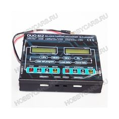 DUO 612 новое зарядное устройство от компании G.T. POWER. Оборудованное двумя независимыми выходами с отдельными дисплеями и балансировочными устройствами, оно способно осуществлять одновременную зарядку двух разных аккумуляторов. Каждый порт з/у имеет мощность в 200W и может заряжать аккумуляторы током до 12А, а разряжать током 5А.