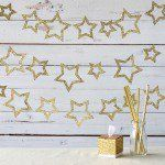 Celebrate the arrival of your little star with these bookmark favors.