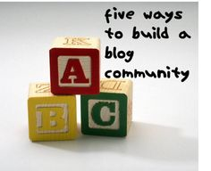 Build your Community WITHOUT leaving tons of comments all over the place