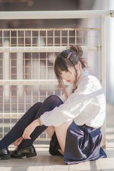 Japanese Girl - Her Crochet School Girl Japan, Japan Girl, Japan Woman, Beautiful Japanese Girl, Beautiful Asian Girls, Pretty Asian, Japanese Beauty, Cute Asian Girls, Cute Girls