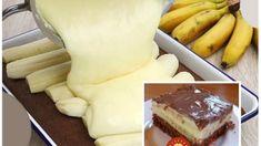 Nesmrteľné banánové rezy s čokoládou: Rýchly a výborný zákusok na každú príležitosť, chuť prekvapí aj náročných! Maxi King, Sweet Cakes, Cheesecake, Food And Drink, Dairy, Cookies, Recipes, Wall Plug, Hampers