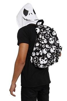 21d29377bcf The Nightmare Before Christmas Jack Hooded Backpack - 193094 Jack  Skellington