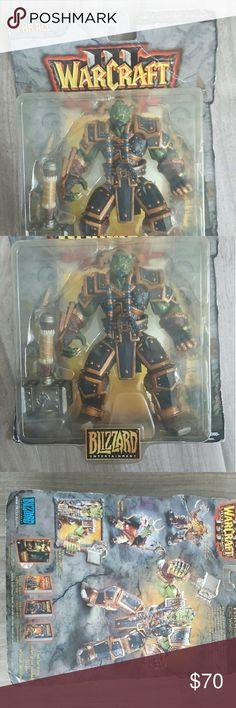 DID YOU SAY WOW!!!! NEW IN BOX THRALL ACTION FIGURE!!! blizzard Entertainment  Accessories