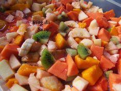 Blog da Suzy : Salada de Frutas - Conservando por mais tempo (dica)