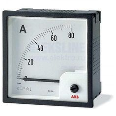 Амперметр перем.тока трансф. вкл. без шкалы AMT1-A5/96 2CSG323260R4001 Cooking Timer