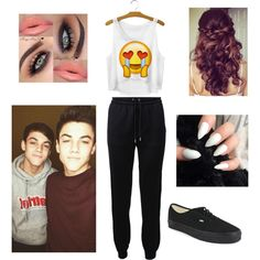 Sleep over with the Dolan twins by jasmine085 on Polyvore featuring polyvore, fashion, style, Barbara Bui and Vans