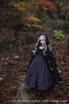 Grail doll at the moment. really want her but I don't have the money to splurge on her at the moment ; Custom Monster High Dolls, Custom Dolls, Dolls With Long Hair, Cheap Dolls, Gothic Dolls, Halloween Doll, Witch Aesthetic, Cat Costumes, New Dolls