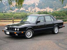 1986-87 BMW E28 M5
