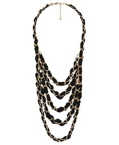 Layer Woven Necklace