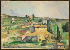 Fields at Bellevue 1895 Cezanne the Phillips Collection