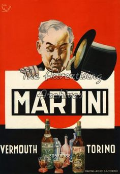 martini advertising 1930 - Cerca con Google