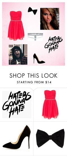 """Tori fancy"" by xprettyrecklessx ❤ liked on Polyvore featuring PINK BOW and Wet Seal"