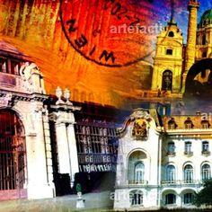 Moderner Kunstdruck Wien