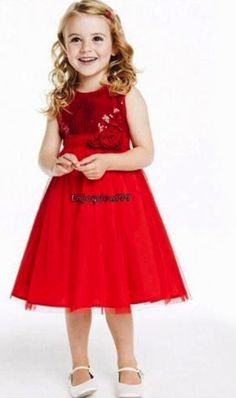 Princess Party Dress - Red