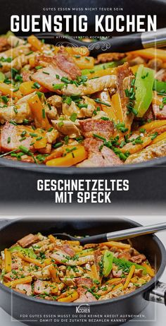 Convenience Food, Kung Pao Chicken, Paella, Gabel, Meat, Dinner, Ethnic Recipes, Kitchen, Easy Peasy