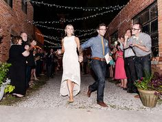 adorable dress - from H // Free-Spirited Graffiti Artist Wedding: Kristen + Dusty