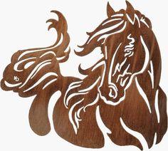 Cheap Price Windy Horse Metal Wall Art by wojcie