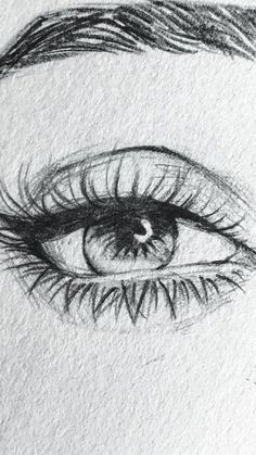 Art Drawings Sketches Simple, Pencil Art Drawings, Realistic Drawings, Easy Drawings, Art Du Croquis, Art Visage, Eye Drawing Tutorials, Eyes Artwork, Arte Sketchbook