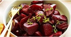 I found this on Food Network within a Bobby Flay roasted beet salad recipe. I wanted the recipe for roasted beets and this one was the best I've seen as far as simple and no mess! You wrap the beets in foil with a little oil and bake! Roasted Beets Recipe, Roasted Beet Salad, Beet Salad Recipes, Baby Beets Recipe, Smoothie Recipes, Vegetable Side Dishes, Vegetable Recipes, Vegetarian Recipes, Cooking Recipes