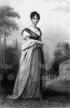 Hortense de Beauharnais (1783-1837) fille de Josephine de Beauharnais. Femme de Louis Bonaparte, reine de Hollande en 1806-1810, mere de Napoleon III.