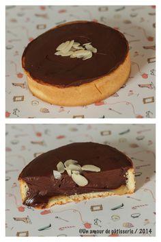 Tartelettes au caramel au beurre salé et chocolat  recette issue de mon blog  unamourdepatisserie.wordpress.com