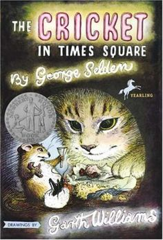 The Cricket In Times Square. I loved this book as a kid.