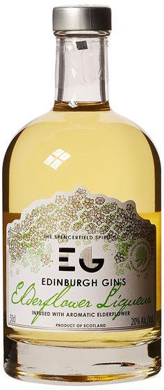 Edinburgh Elderflower Gin (1 x 0.5 l)