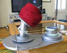 MAKE   DIY Yarn Ball Winder #crochet