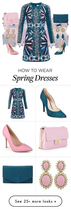 """""""Untitled #153"""" by easy-dressing on Polyvore featuring Design Inverso, Peter Pilotto, Journee Collection, Emily Cho, Nine West and Ciner Fashion 2018, Fashion Dresses, Spring Fashion, Womens Fashion, Fashion Trends, Complete Outfits, Office Fashion, Simple Dresses, Passion For Fashion"""