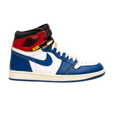 online retailer 2bafc 31866 Union x Air Jordan 1 Retro High  Storm Blue  - BV1300 146. Air Force  SneakersNike ...