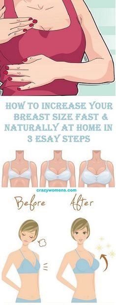 Breasts larger to naturally make how How to