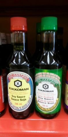 Product: Kikkoman soy sauce.  Store: Bulk Barn (Fourth Avenue, St. Catharines).  Several brands of soy sauce are low FODMAP (like the brand above).  Even though soy sauce contains wheat and/or soy in the ingredients the FODMAP amount is still considered low.  It is important to check the ingredient list however when purchasing soy sauce to make sure it does not have other high FODMAP ingredients added (e.g. glucose-fructose).  Neal Glauser, RD