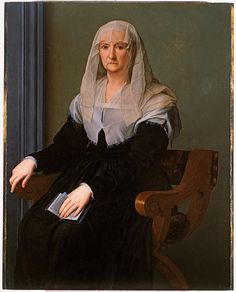 Agnolo BRONZINO Portrait of an Elderly Lady