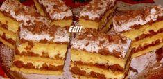 gyopar Hungarian Desserts, Hungarian Recipes, My Recipes, Cake Recipes, Cooking Recipes, Torte Cake, Sweet Life, Fondant, Bakery
