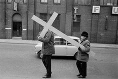Martin Parr 1976 West Yorkshire. Todmorden