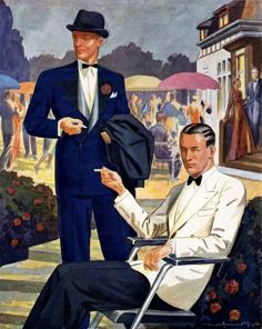 Vintage Black Tie