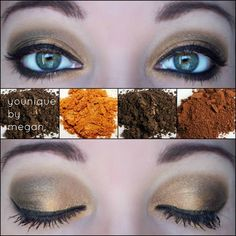 Gorgeous day look.....order your mineral pigments at https://www.youniqueproducts.com/SherryBrown