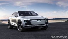 <strong>Audi e-tron Sportback concept</strong> - La Suv sportiva elettrica per Shanghai